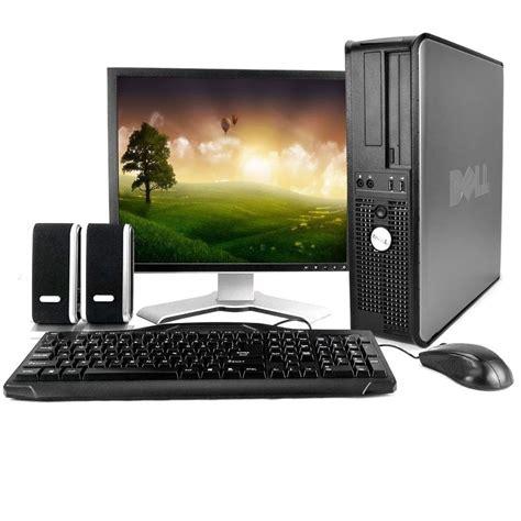 Komputer Dell Core2duo dell 780 desktop with dell 19 quot lcd 4gb dual cpu
