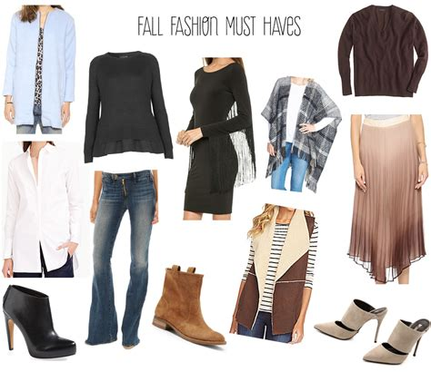 Top 10 Fashion Must Haves Of 2007 by Affordable Must Items Fall 2014 Fashion Fall Fashion