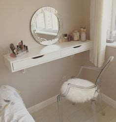 Easy Diy Bedroom Easy Diy Makeup Table When Space Is Limited Or You Are