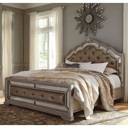 esmeralda sleigh bedroom set king size beds coleman furniture
