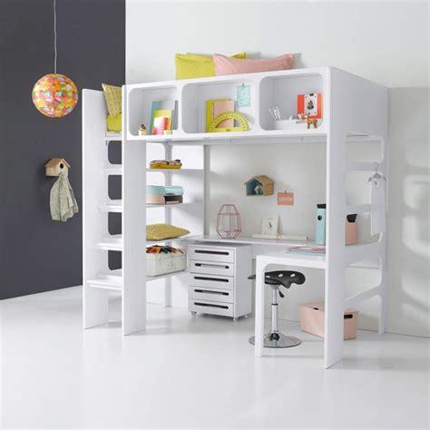 lit mezzanine duplex la redoute produits lit pour enfant