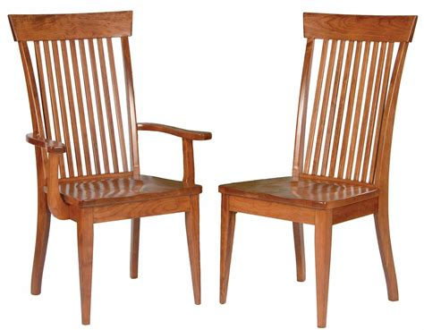 International Concepts Unfinished Wood Mission Dining Wooden Dining Chairs