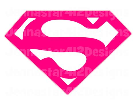 the gallery for gt supergirl logo pink