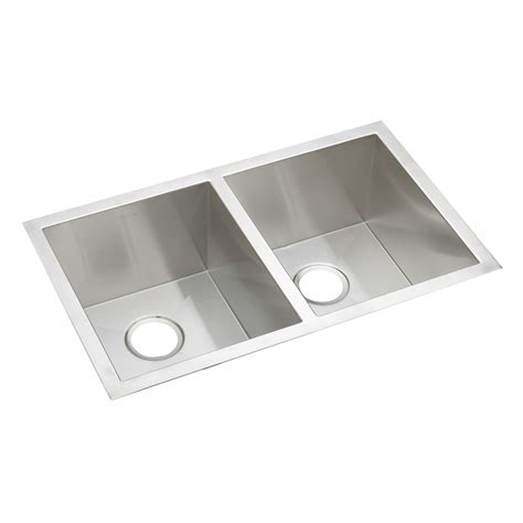 Lowes Kitchen Sinks Stainless Steel Elkay Efu311810 Avado Undermount Bowl Basin Kitchen Sink Stainless Steel Lowe S Canada