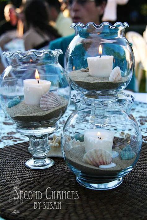 sea themed centerpieces for a wedding 25 best ideas about sea wedding theme on