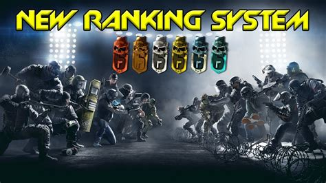 siege program how does the ranking system in rainbow six siege work
