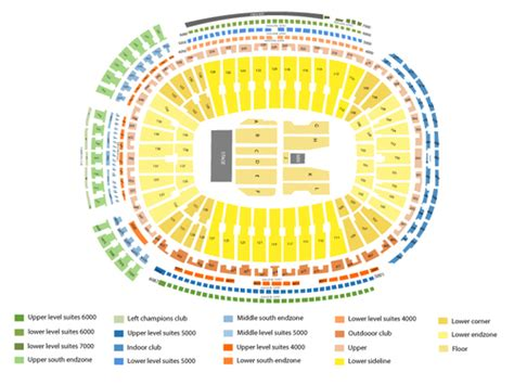 seating chart lambeau lambeau field seating chart events in green bay wi