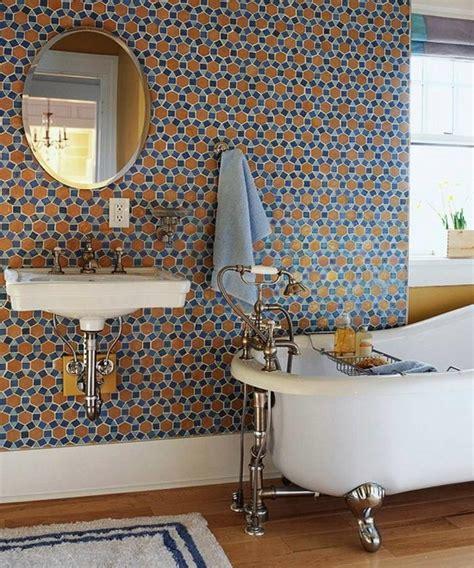 Colored Bathroom Designs by 15 Catchy Multicolor Tiled Bathroom Designs Rilane