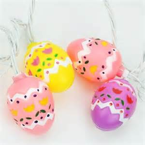 set of 10 pastel multi colored easter egg spring holiday