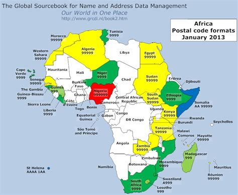 Africa With Code by Global Sourcebook For International Data Management