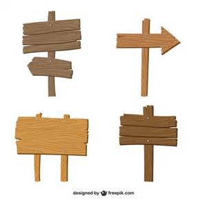 wood sign templates wood sign templates vector wooden signs design elements