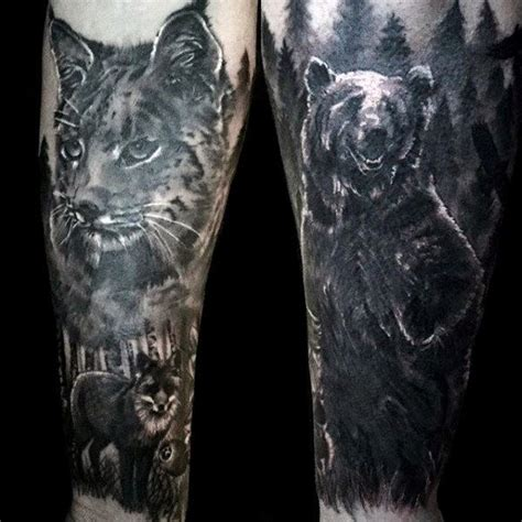 tattoo ink contains animal 100 forest tattoo designs for men masculine tree ink