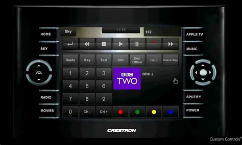 crestron templates www customcontrols co uk crestron touchpanel exle