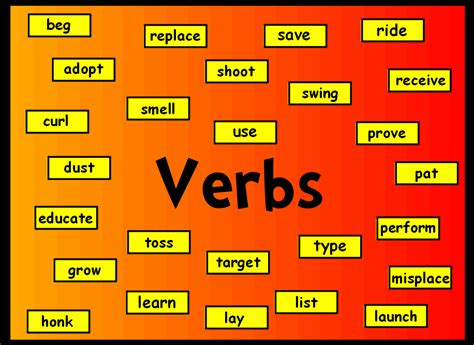 verbs and adverbs grammar guide my language