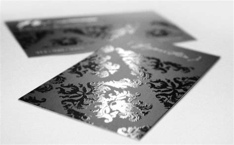 Rok Lilit Glossy Desain 28 30 stunning exles of spot uv printed business cards