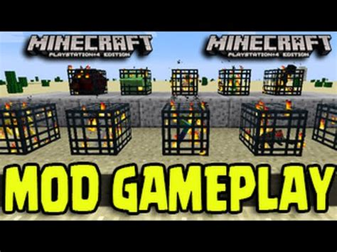 mod in minecraft ps4 minecraft ps3 ps4 psvita mod gameplay modded map