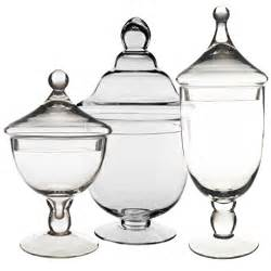 buffet containers wholesale wholesale buffet apothecary jars set of 3 set of
