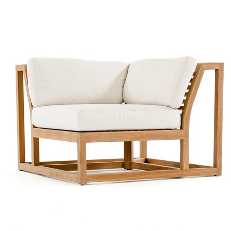 teak sectional maya premium teak outdoor sectional furniture