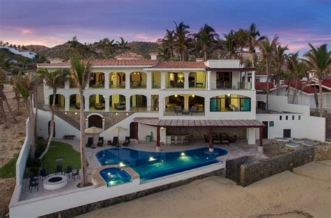3 Story Townhouse Floor Plans Casa Del Mar An Oceanfront Mansion In San Jose Del Cabo