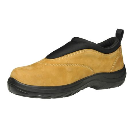 oliver work boots 34615 steel toe safety wheat slip on