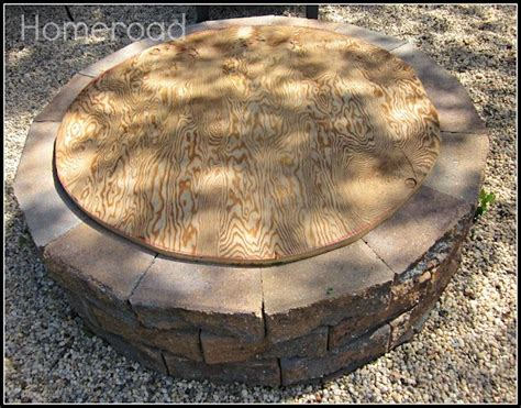 Firepit Cover Diy Pit And Cover