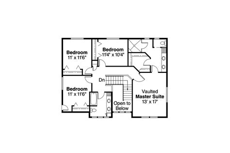 craftsman floor plans 2 story craftsman house plans garrison 30 414 associated designs