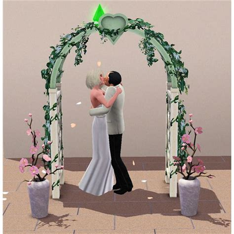 Wedding Arch In Sims 3 by The Sims 3 Stages Guide