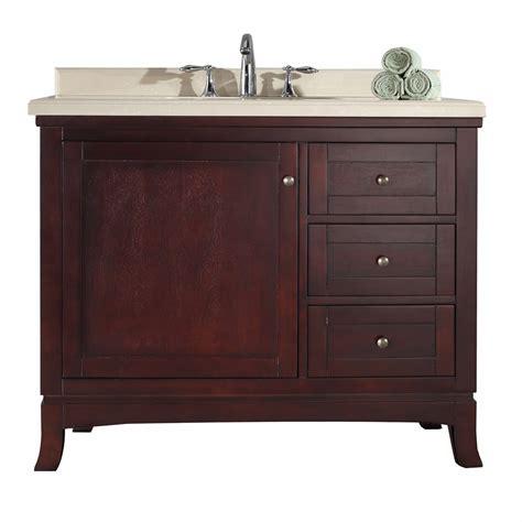 42 Inch Bathroom Vanity Ove Decor 15vva Vale42 D22af Valega 42 Inch Vanity In Tobacco 15vva Vale42 D22af 15vvavale42d22af