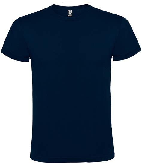 camiseta manga corta camiseta manga corta unisex color azul marino 14 95