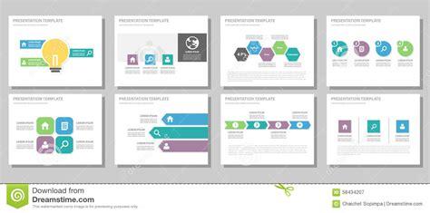 Blue Purple And Green Multipurpose Brochure Flyer Leaflet Website Template Flat Design Cartoon Product Promotion Website Templates