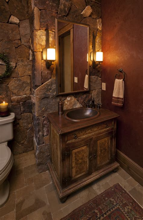 creative western bathroom vanities design reclaimed wood