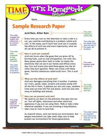 Research Paper 5th Grade Powerpoint by 5th Grade Research Paper Exle