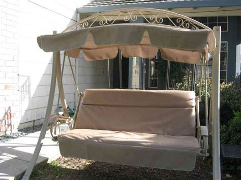 patio swing cover lawn swing replacement cushions home furniture design