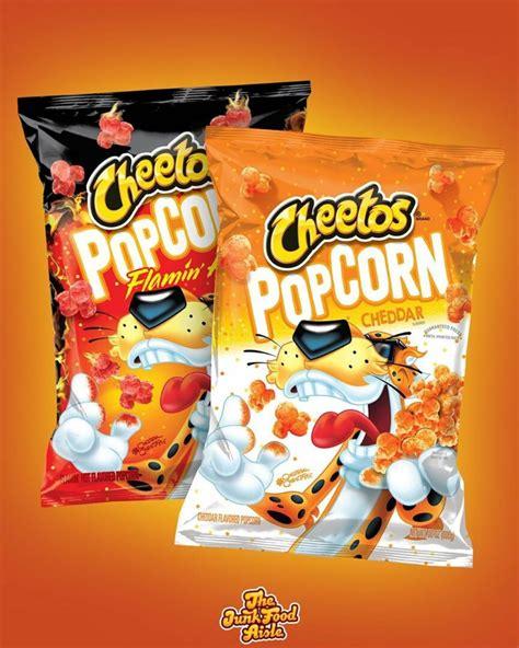 cheetos popcorn  coming   junk food aisle