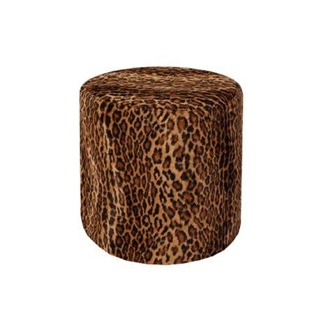 leopard ottoman leopard ottoman formdecor