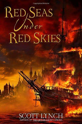 strange horizons red seas under red skies by scott lynch by martin petto