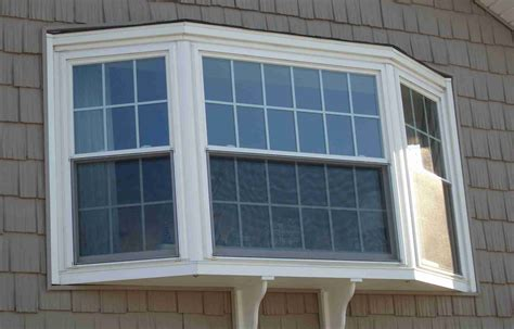 Replacing Home Windows Decorating Window Without The Cables Your Bay Window Replacement With Tile Roof And Gable Roof For Modern