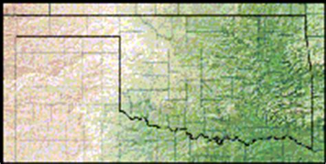 topographical map of oklahoma oklahoma maps road climate physical maps