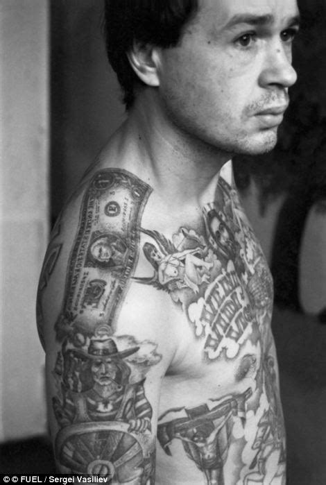 russian mafia tattoos symbols of a of crime the fading tattoos on russia s