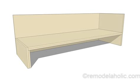 plywood sofa plans diy outdoor sectional sofa tutorial building plan