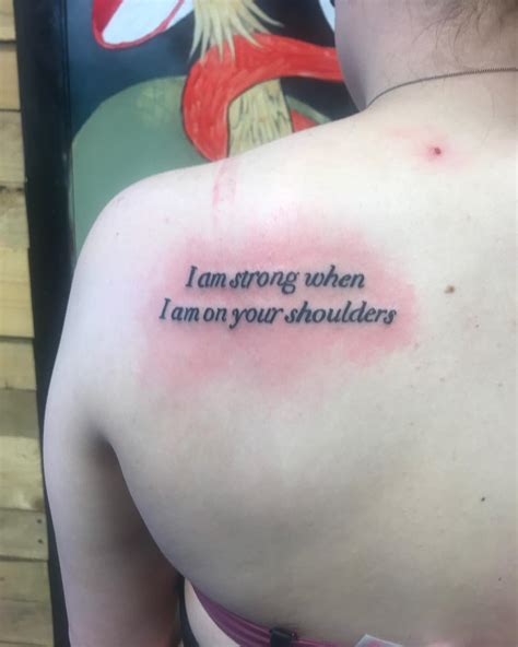 small back tattoo small quote tattoos www pixshark images galleries