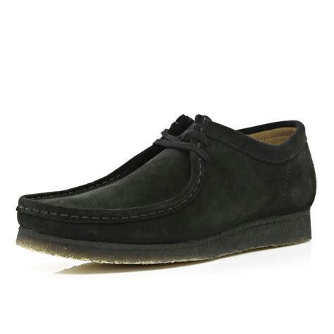 D Island Shoes Original river island black clarks originals suede wallabees in