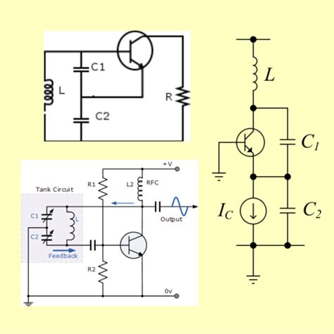 inductor oscillator circuit 17 colpitts ham lesson o de day