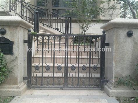 popular garden villa wrought iron designs gates and steel fence design buy gates and steel