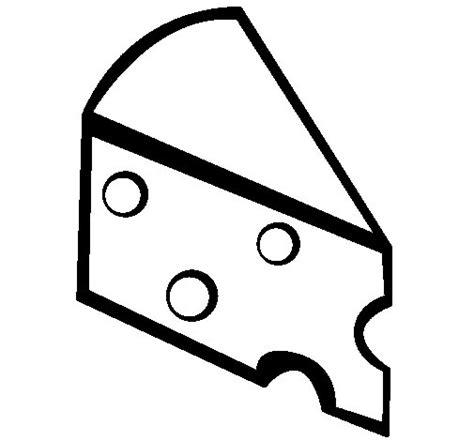 imagenes para pintar queso dibujo de queso para colorear dibujos net