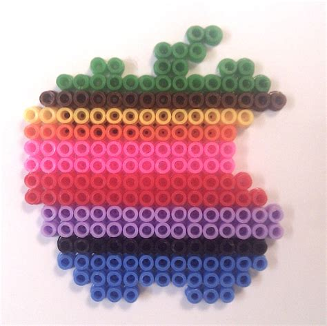 apple perler ecocreo apple hama ikea pyssla
