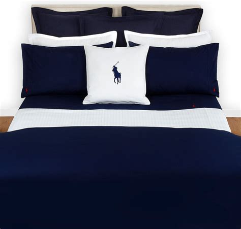 Set Bed Cover Polos 180x200 ralph home polo player navy duvet cover modern duvet covers sets by amara