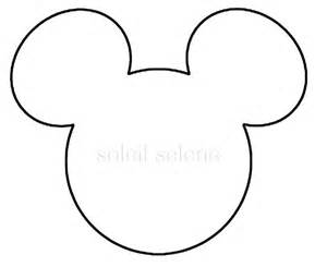mickey mouse ears printable template pattern tattoo