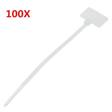 ace hardware zip ties 100pcs white nylon zip cable tie label strap strip with