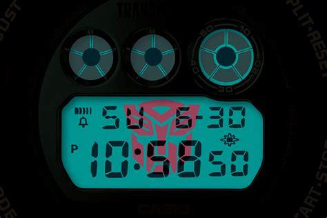 G Shock 5 11 oto zegarek casio g shock x transformers optimus prime